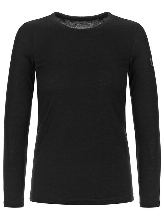 super.natural Base Crew Neck 230 Tech t-shirt zwart