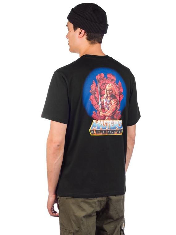 Element Masters Of The Universe He-Man T-Shirt zwart