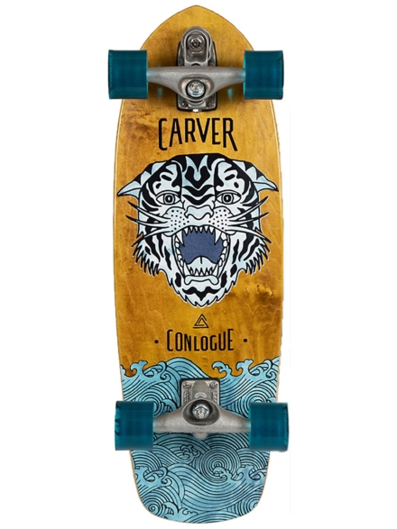 "Carver Skateboards Conlogue Sea Tiger C7 29.5"" Surfskate patroon"