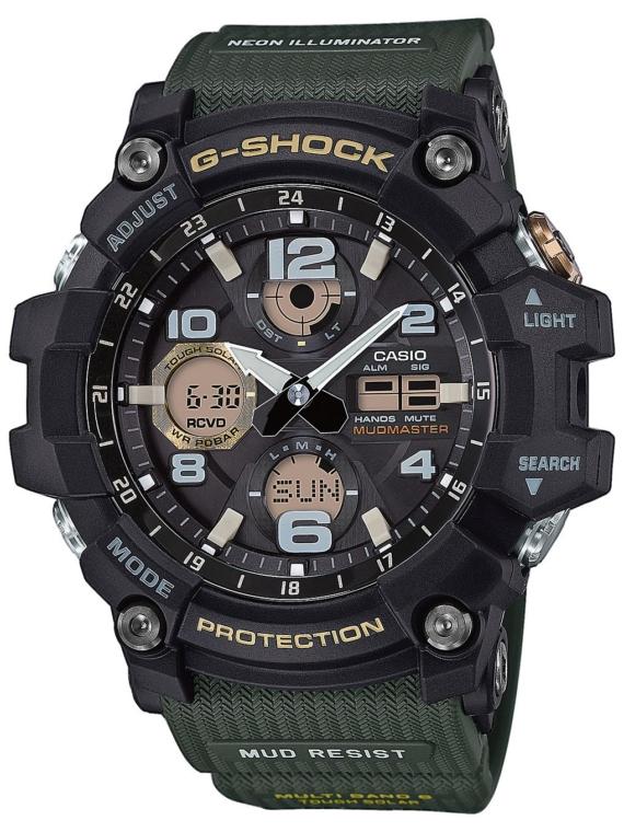G-SHOCK GWG-100-1A3ER zwart