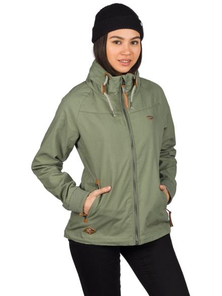 ragwear Apoli Ski jas groen