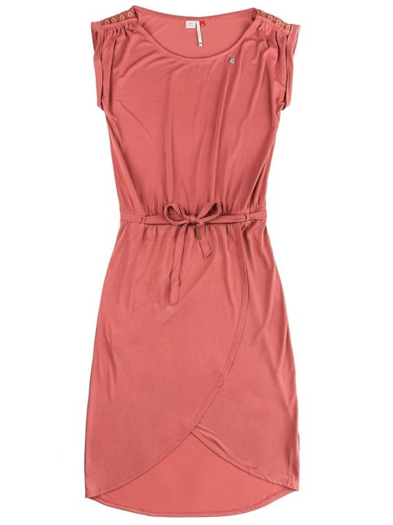 ragwear Ethany jurkje rood