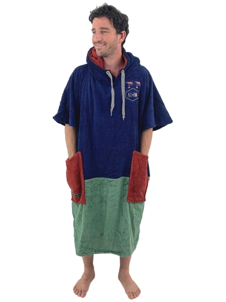 All-In Organic Line V Surf Poncho patroon