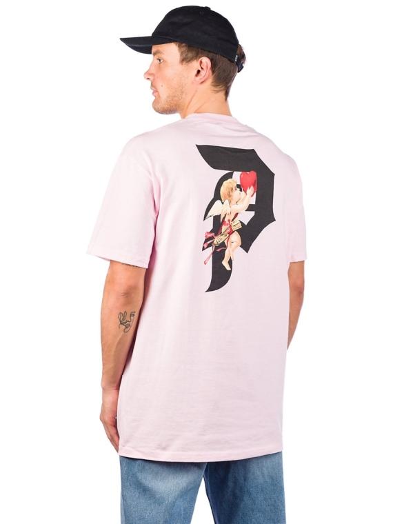 Primitive Dirty P Cupid T-Shirt roze