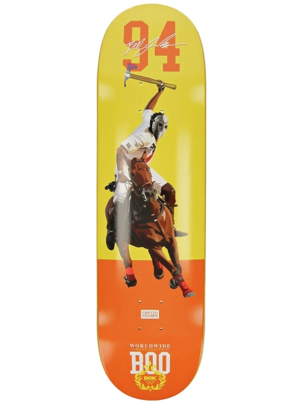 "DGK Boo J Hood League 8.38"" Skateboard Deck patroon"