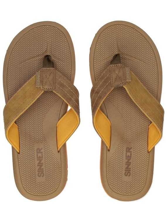 Sinner Lobos slippers bruin