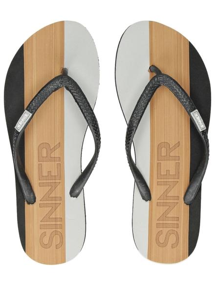 Sinner petjeitola slippers zwart