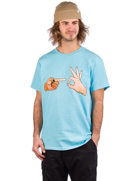 Salem7 D.T.F T-Shirt blauw