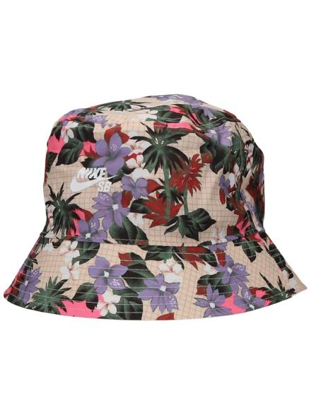Nike NK Bucket Paradise hoed wit