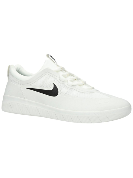 Nike Nyjah Free 2.0 Skate schoenen wit
