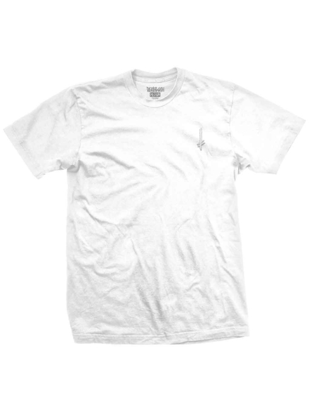 Deathwish Gang Logo Circle T-Shirt wit