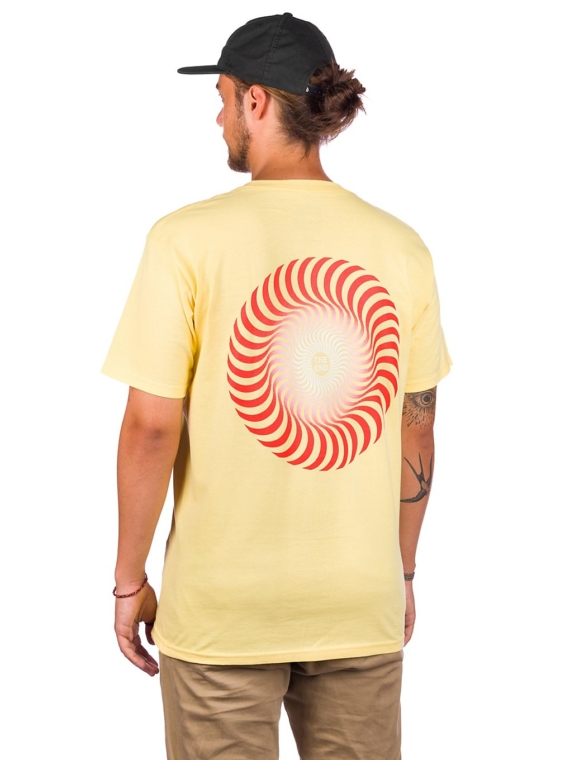Spitfire Classic Swirl Fade T-Shirt patroon