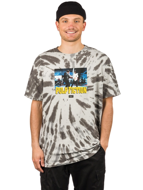 HUF Dance Scene Tie Dye T-Shirt zwart