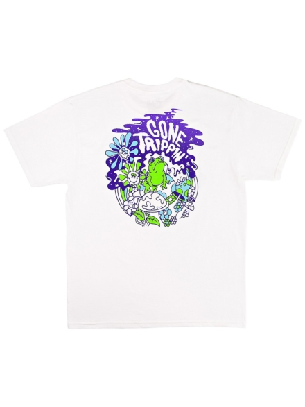 A.Lab Gone Trippin T-Shirt wit