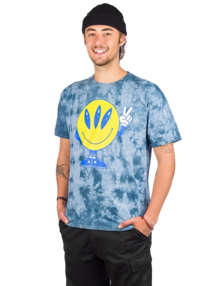A.Lab Come in Peace T-Shirt blauw