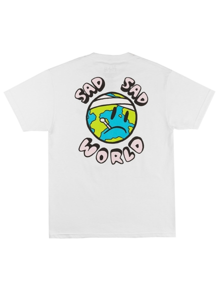 A.Lab Sad Sad World T-Shirt wit