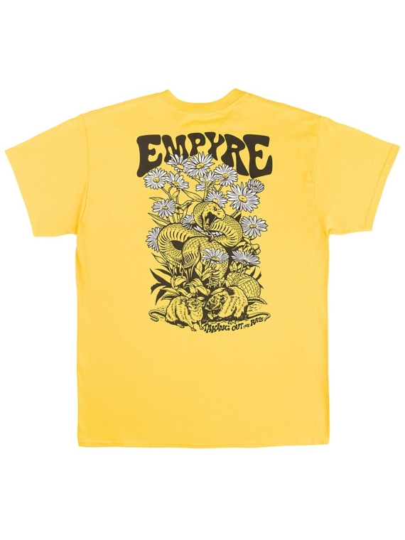 Empyre Taking out the Rats T-Shirt geel