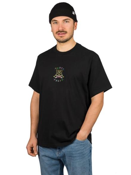 Teddy Fresh X Spongebob Embroidered T-Shirt zwart