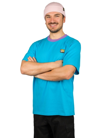 Teddy Fresh X Spongebob Classic Patch T-Shirt blauw