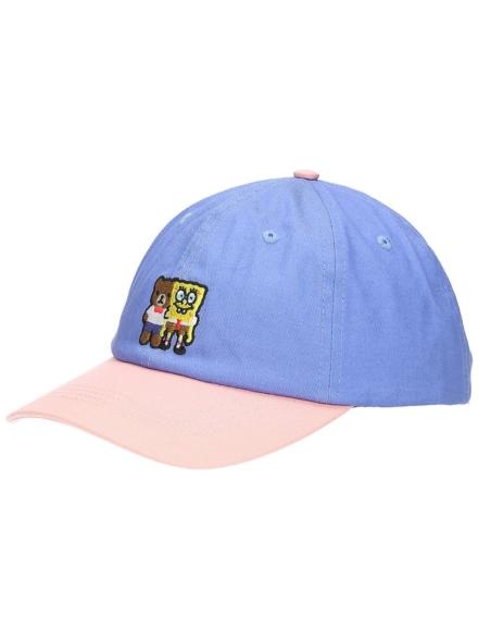 Teddy Fresh X Spongebob Color Block petje blauw