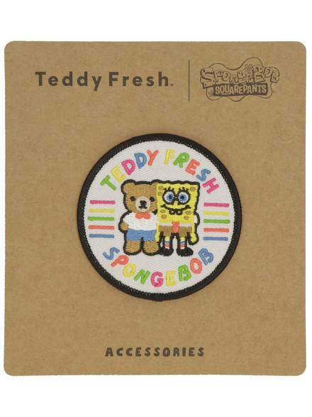 Teddy Fresh X Spongebob Friends Patch wit