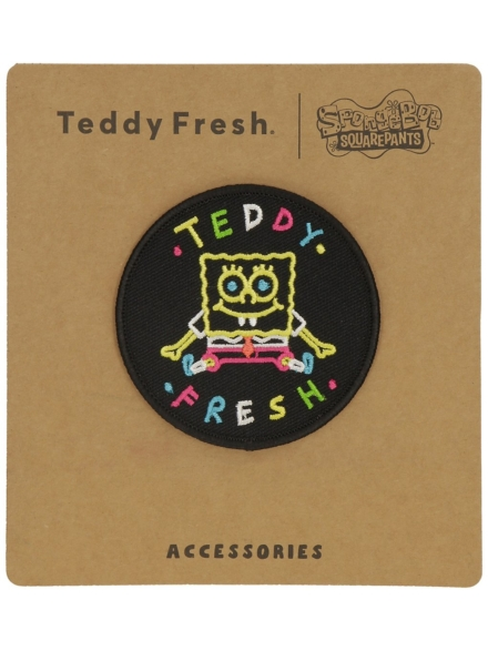 Teddy Fresh X Spongebob Classic Patch zwart
