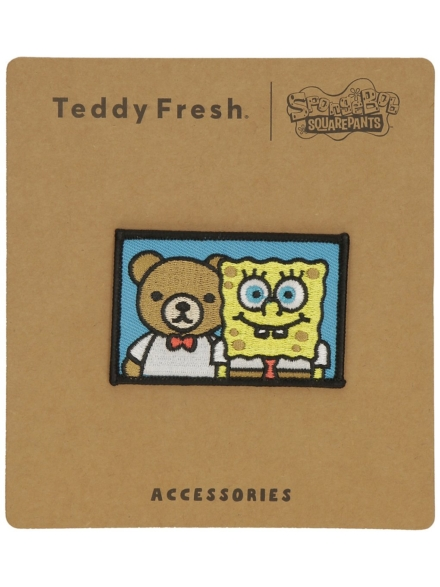 Teddy Fresh X Spongebob Patch patroon