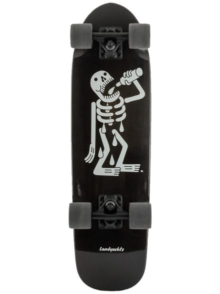 "Landyachtz Dinghy Skeleton 28.5"" Complete patroon"