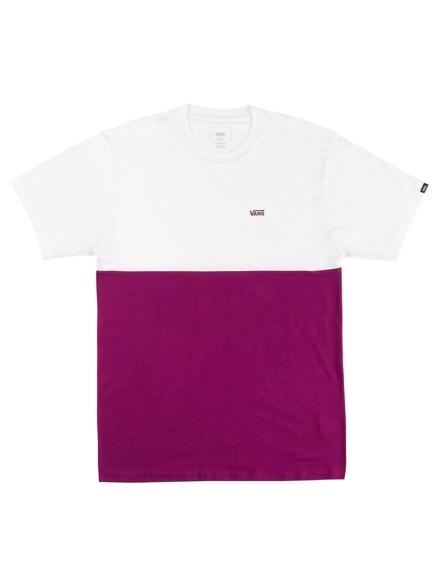 Vans Colorblock T-Shirt paars