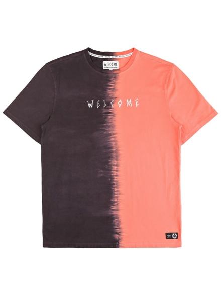 Welcome Chimera Dip-Dyed T-Shirt zwart