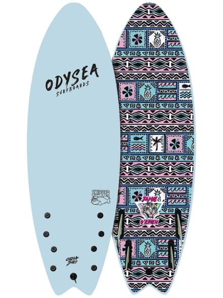 Catch Surf Odysea Skipper Pro Job Quad 5'6 blauw