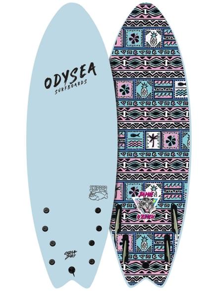 Catch Surf Odysea Skipper Pro Job Quad 6'6 blauw