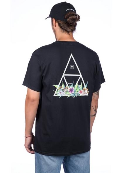 HUF Botanical Garden TT T-Shirt zwart