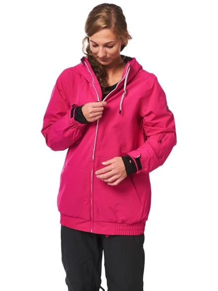 Light Bloom Ski jas roze