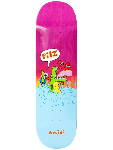 "Enjoi Villani R7 8.5"" Skateboard Deck patroon"