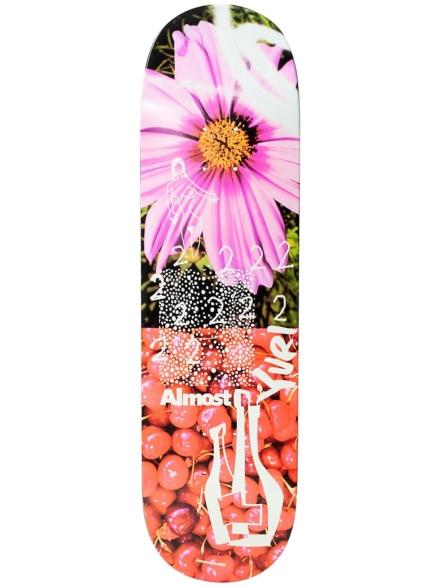 "Almost In Bloom Impact Light 8.5"" Skateboard Deck patroon"