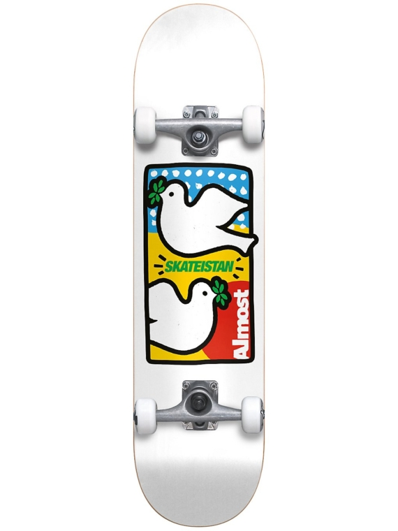 Almost Double Doves Skateistan YT 7875″ Complete wit