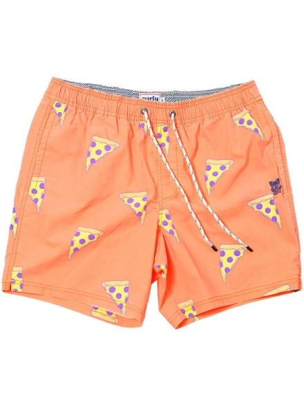 Party broek Cheezy Boardshorts oranje