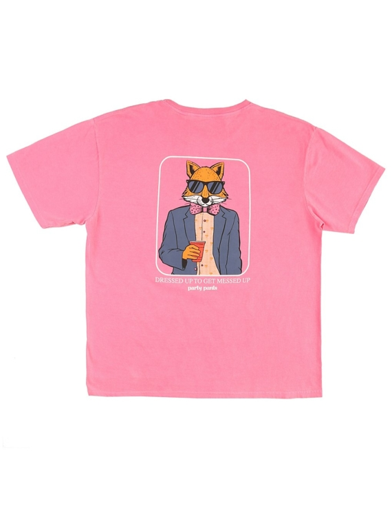 Party broek Zero FOX T-Shirt roze