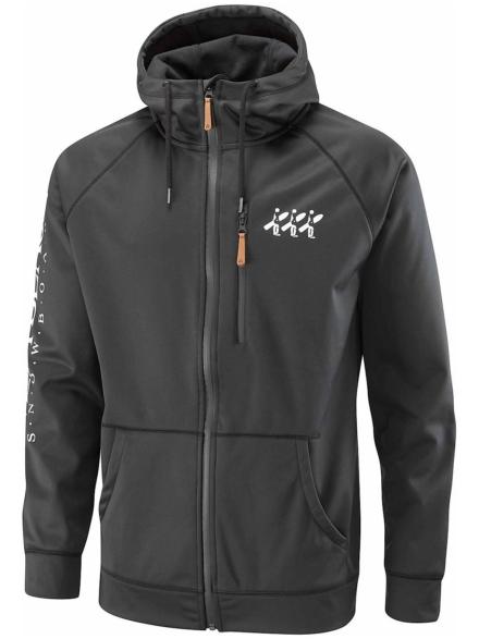 Westbeach Superpipe Softshell Ski jas zwart