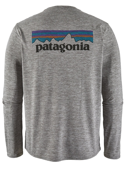 Patagonia petje Cool Daily Graphic Longsleeve Lycra grijs