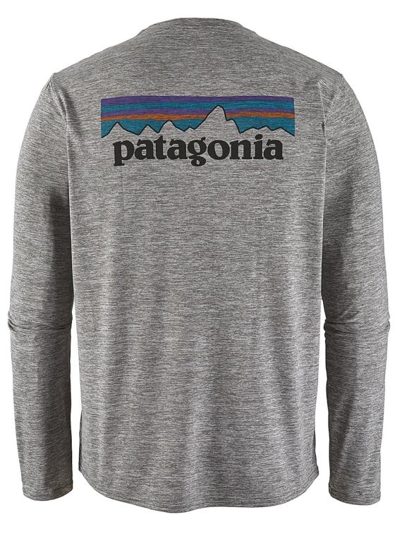 Patagonia petje Cool Daily Graphic Longsleeve Lycra grijs