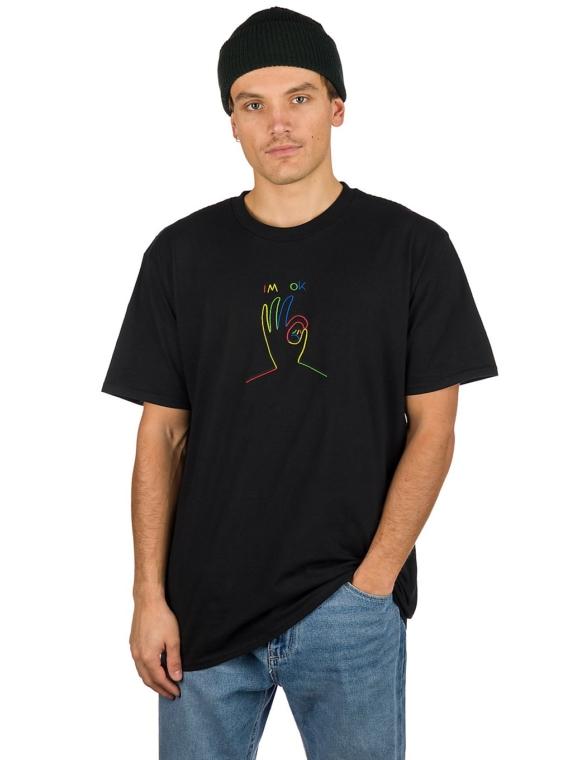 Leon Karssen I'm Ok T-Shirt zwart
