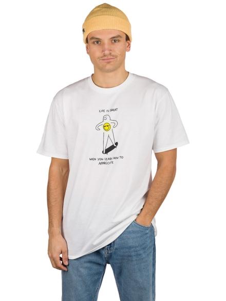 Leon Karssen Appreci8 T-Shirt wit