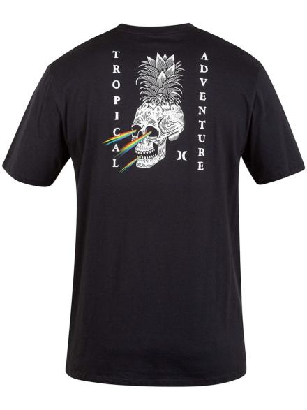 Hurley Pinapple Floyd T-Shirt zwart