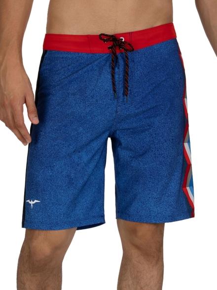 Hurley JJF 6 Ornamental Boardshorts blauw