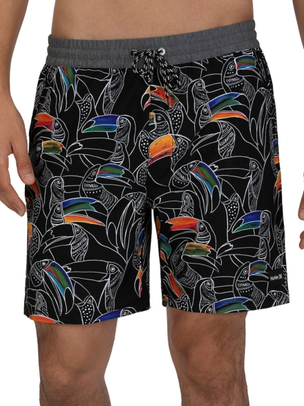 Hurley Party Pack Volley Boardshorts zwart