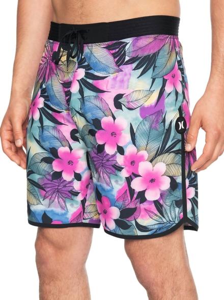 "Hurley Phantom Hyperweave Max Spraygun 18"" Boardshorts roze"