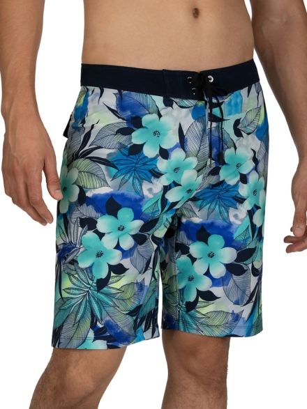 "Hurley Phantom Spray Gun 20"" Boardshorts blauw"