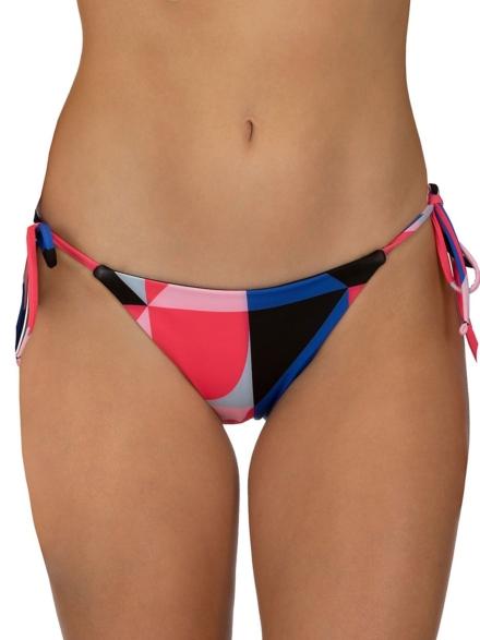 Hurley Rvsb Geo Tie Bikini Bottom rood